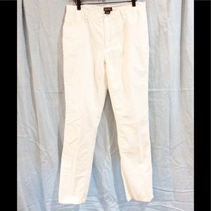 Men's Michael Kors White Linen Pants